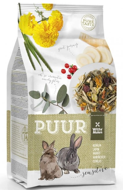 PUUR konijn Sensitive <br>3 kg