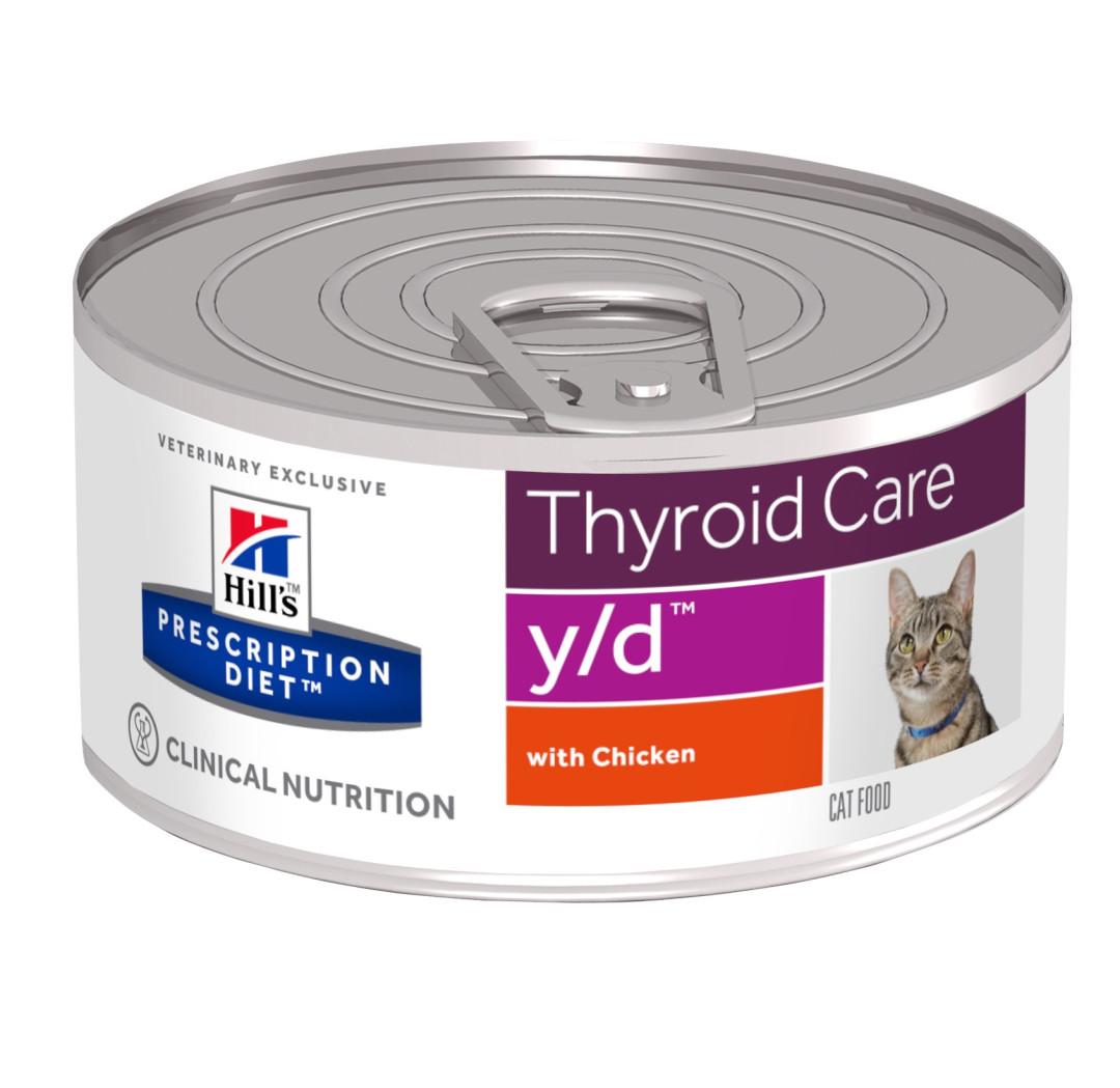 Hill's Prescription Diet kattenvoer y/d 156 gr