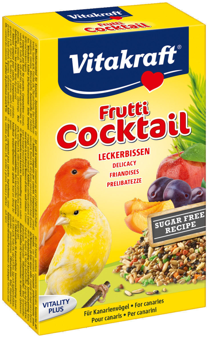 Vitakraft Frutti Cocktail kanarie 200 gr
