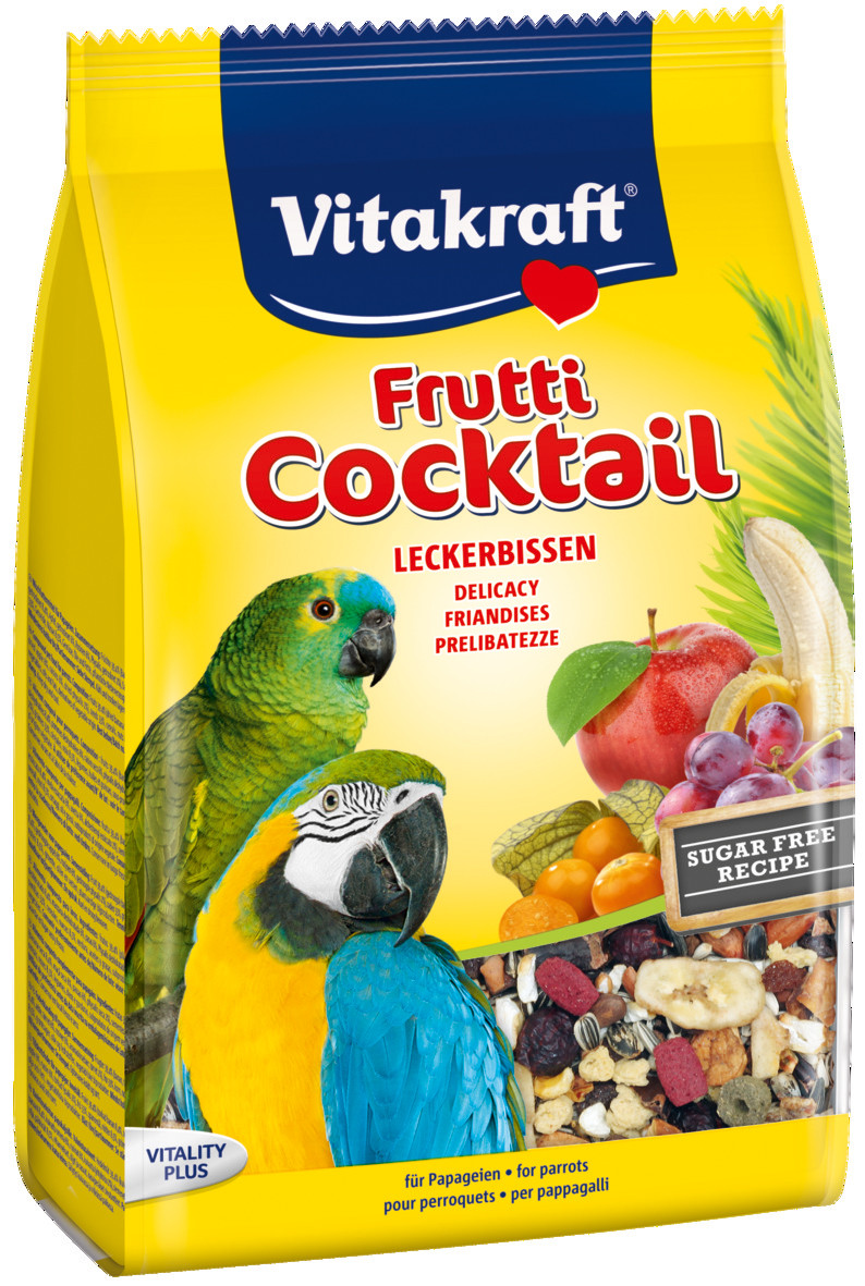 Vitakraft Frutti Cocktail papegaai 250 gr