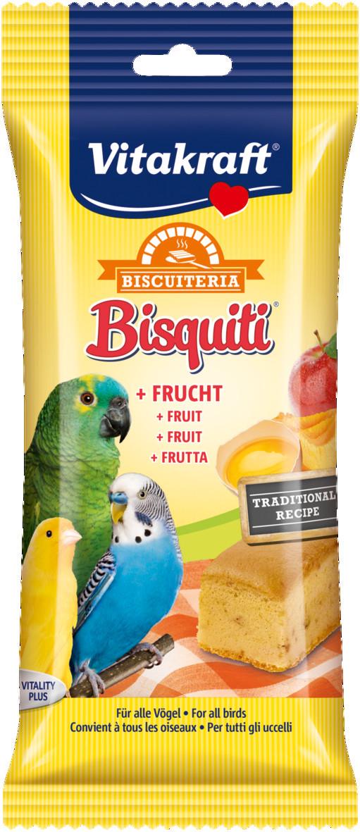 Vitakraft Bisquiti met fruit 4 st