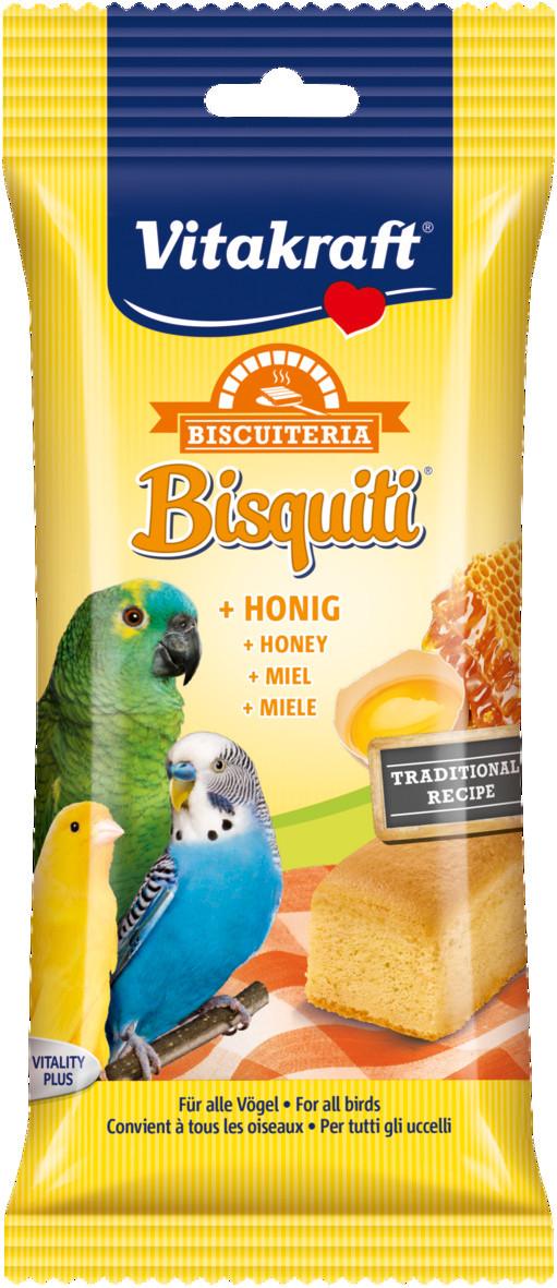 Vitakraft Bisquiti met honing 4 st
