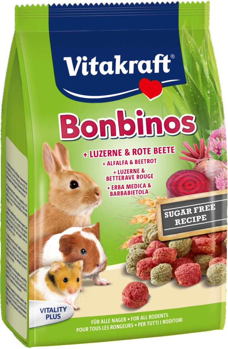 Vitakraft Bonbinos met alfalfa en rode bieten <br>40 gr