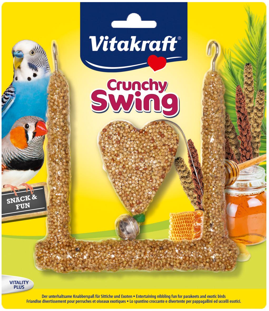 Vitakraft Crunchy Swing parkiet en exoot 80 gr