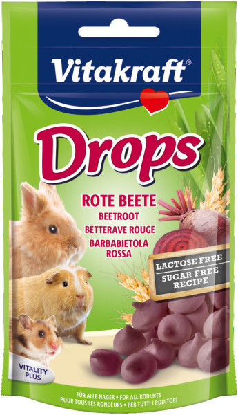 Vitakraft Drops bieten lactosevrij 75 gr