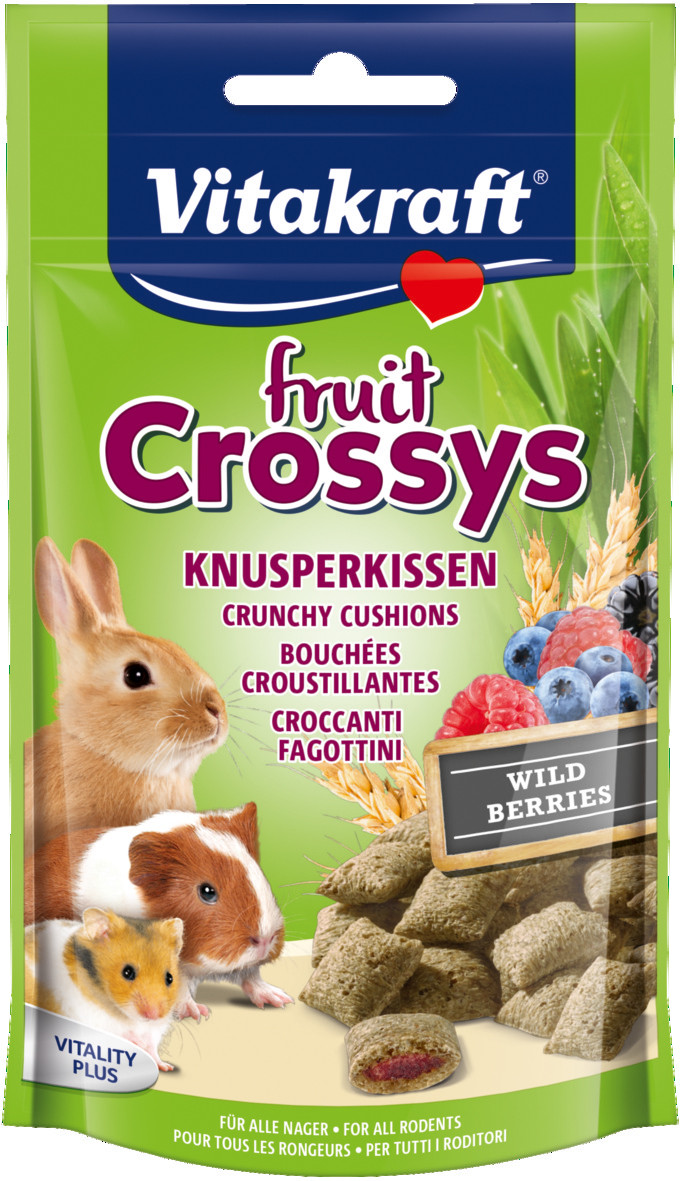 Vitakraft Fruit Crossys bosbessen 50 gr