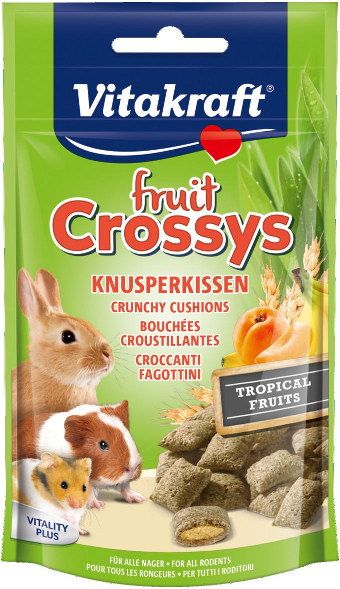 Vitakraft Fruit Crossys tropisch fruit 50 gr