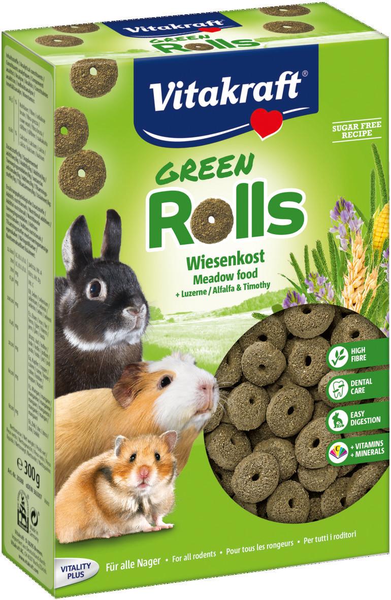 Vitakraft Green Rolls 300 gr