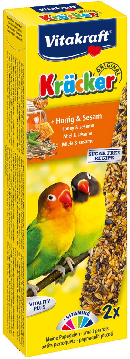 Vitakraft Kräcker Original agapornide - honing en sesam 2 st