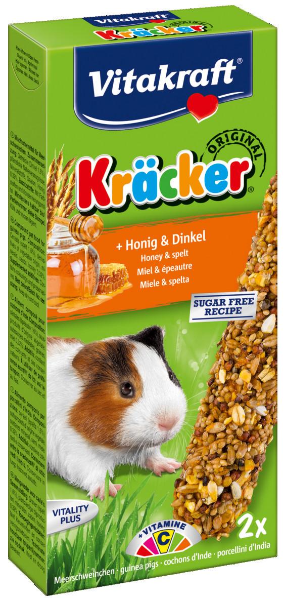 Vitakraft Kräcker Original cavia - honing en spelt 2 st
