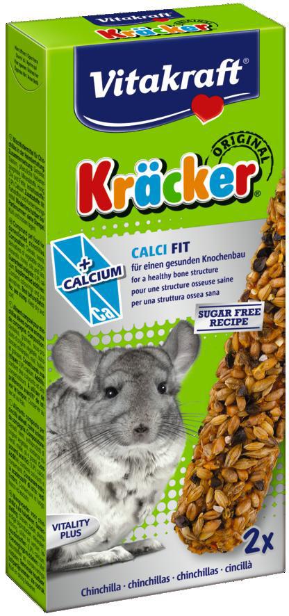 Vitakraft Kräcker Original chinchilla - Calci Fit 2 st