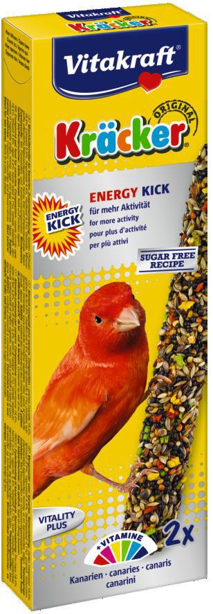 Vitakraft Kräcker Original kanarie - Energy Kick 2 st