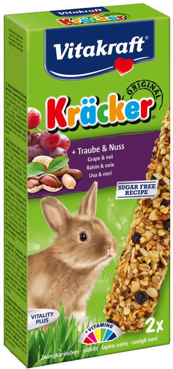 Vitakraft Kräcker Original konijn - druif en noot 2 st