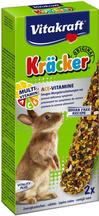 Vitakraft Kräcker Original konijn - Multi Vitamine 2 st