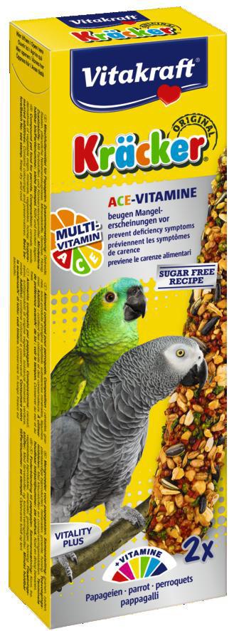Vitakraft Kräcker Original papegaai - Multi Vitamine 2 st