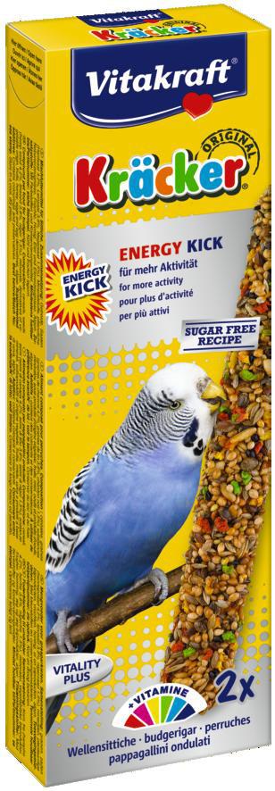 Vitakraft Kräcker Original parkiet - Energy Kick 2 st