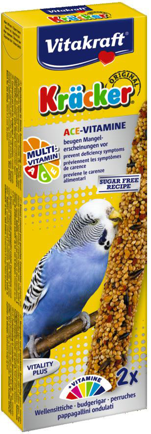 Vitakraft Kräcker Original parkiet - Multi Vitamine 2 st