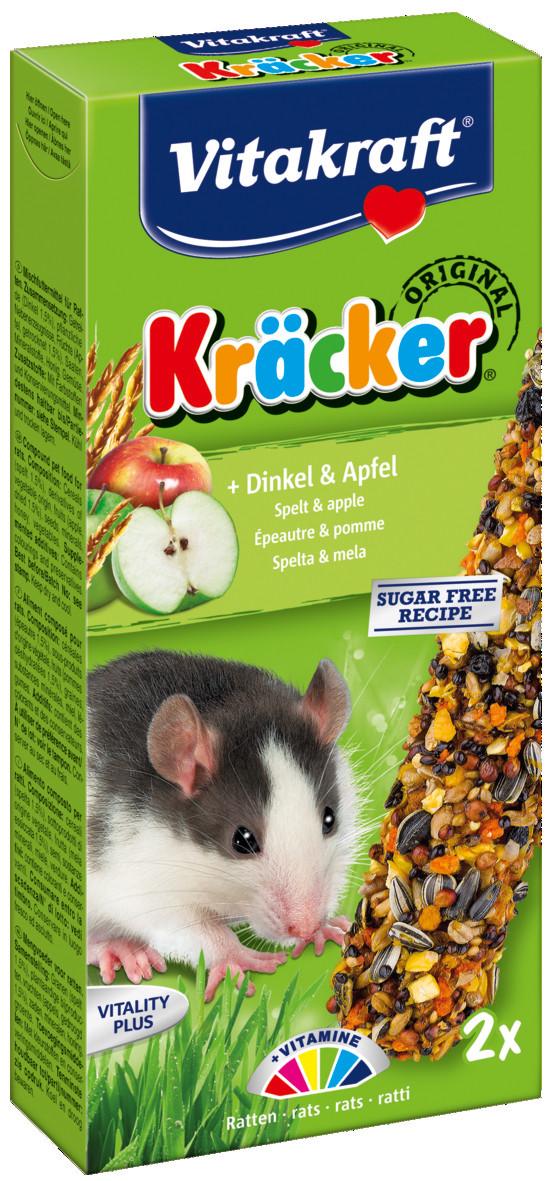 Vitakraft Kräcker Original rat - spelt en appel 2 st