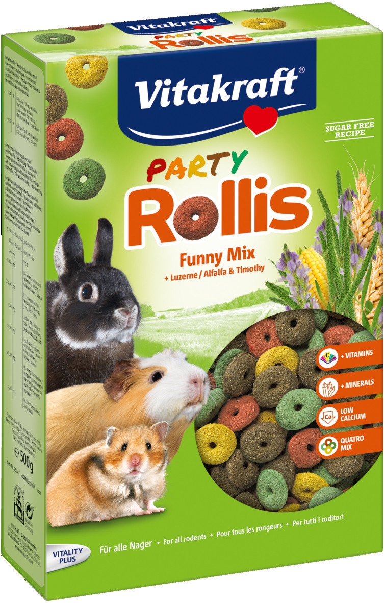 Vitakraft Party Rollis 500 gr