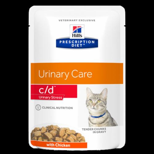 Hill's Prescription Diet c/d Urinary Stress kip 12 x 85 gr
