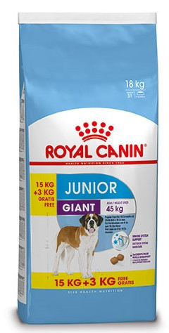 15 + 3 kg Royal Canin hondenvoer Giant Junior