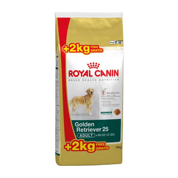 12 + 2 kg Royal Canin hondenvoer Golden Retriever