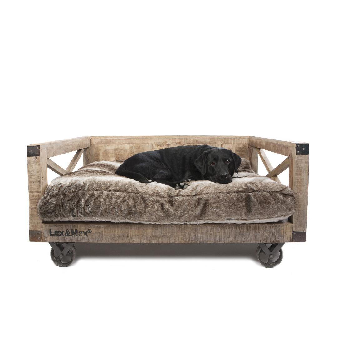 Lex & Max hondenbank op wielen