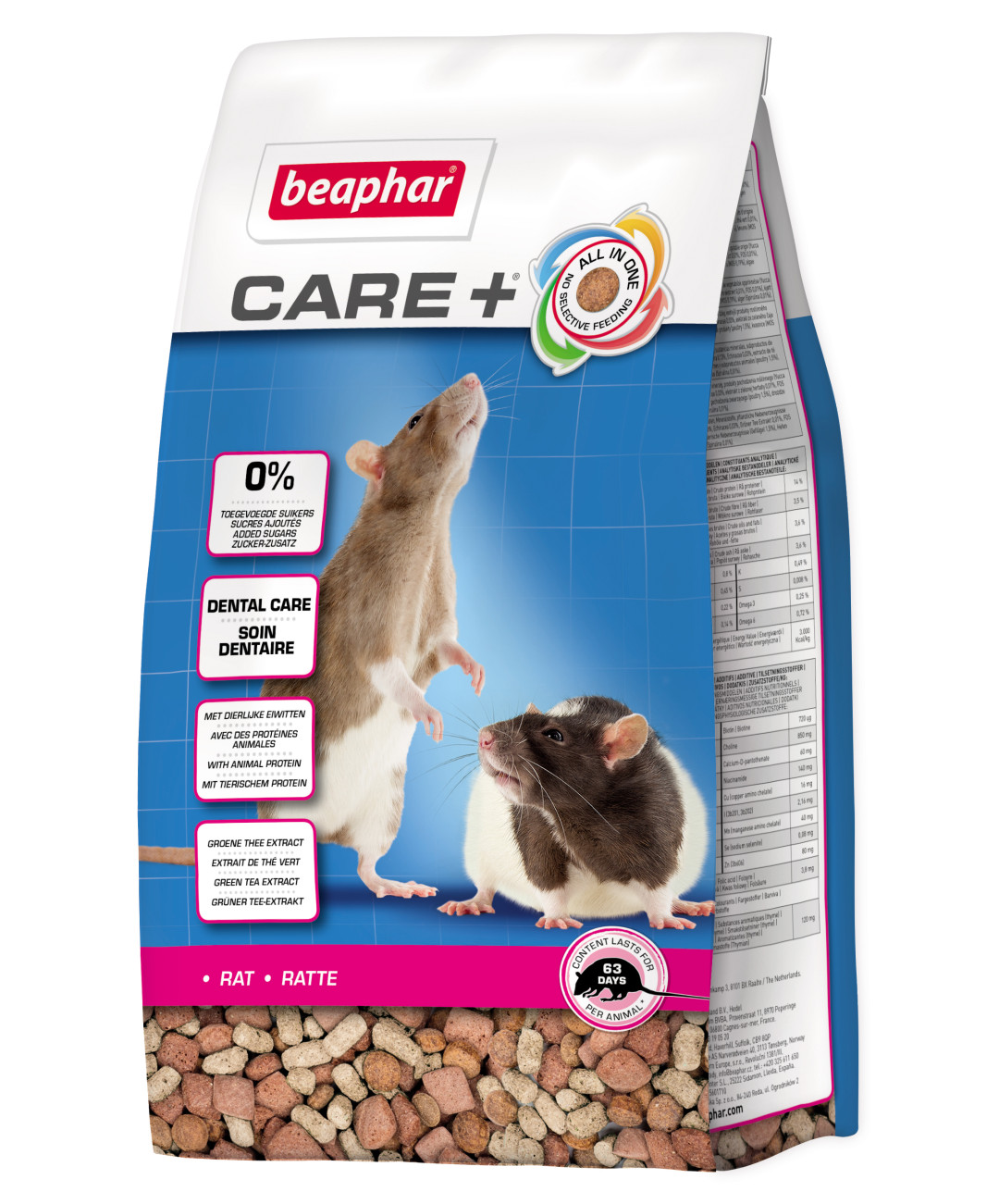 Beaphar Care+ rat <br>700 gr