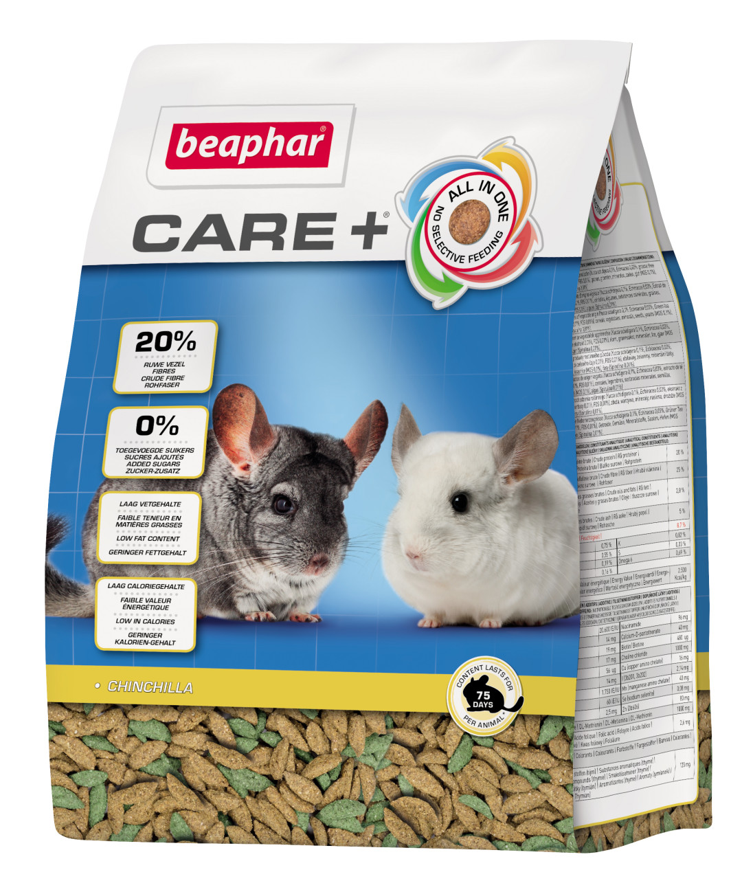 Beaphar Care+ chinchilla 1,5 kg