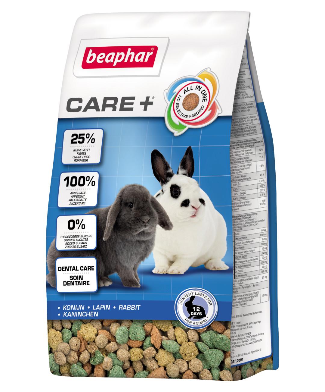 Beaphar Care+ konijn 250 gr