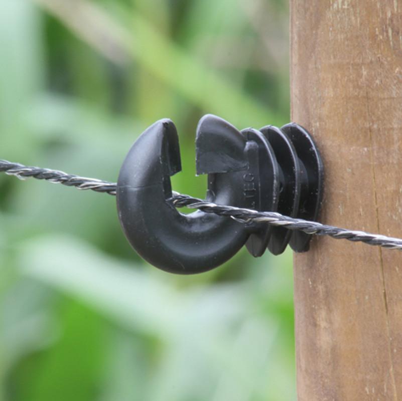 KOLTEC draad 3,5 mm zwart 200 mtr