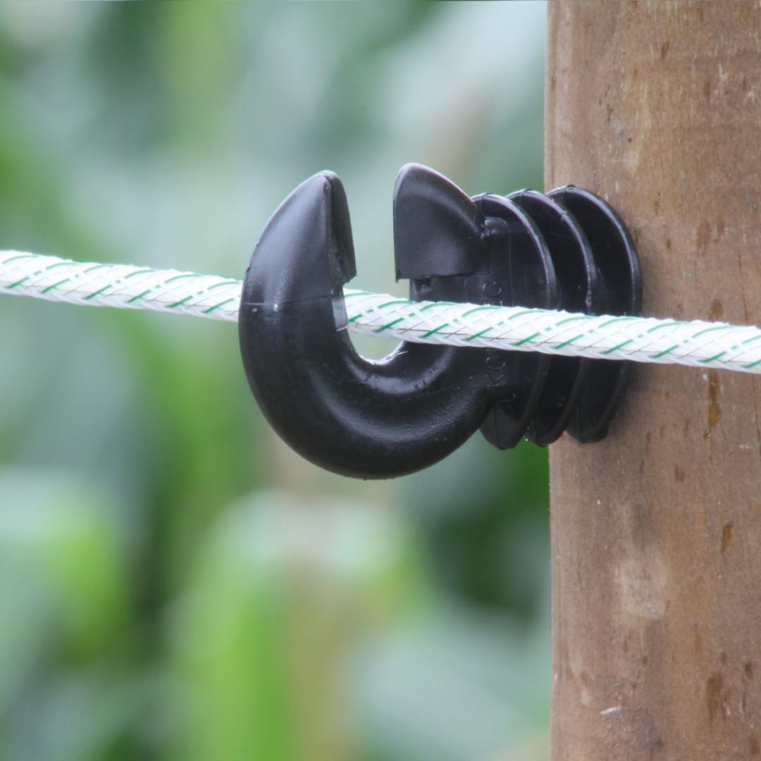 KOLTEC koord 6 mm wit/groen 200 mtr