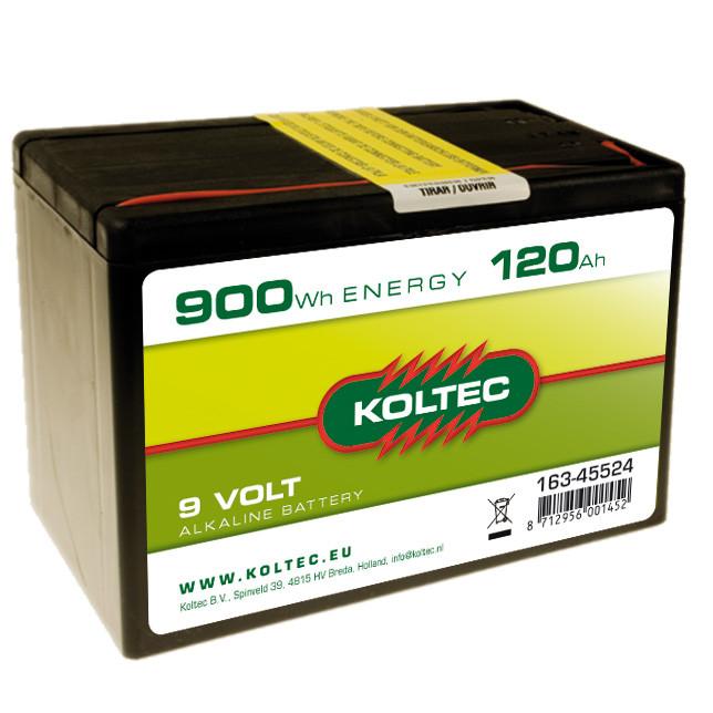 KOLTEC batterij 9Volt - 900Wh 120Ah