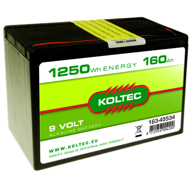 KOLTEC batterij 160Ah