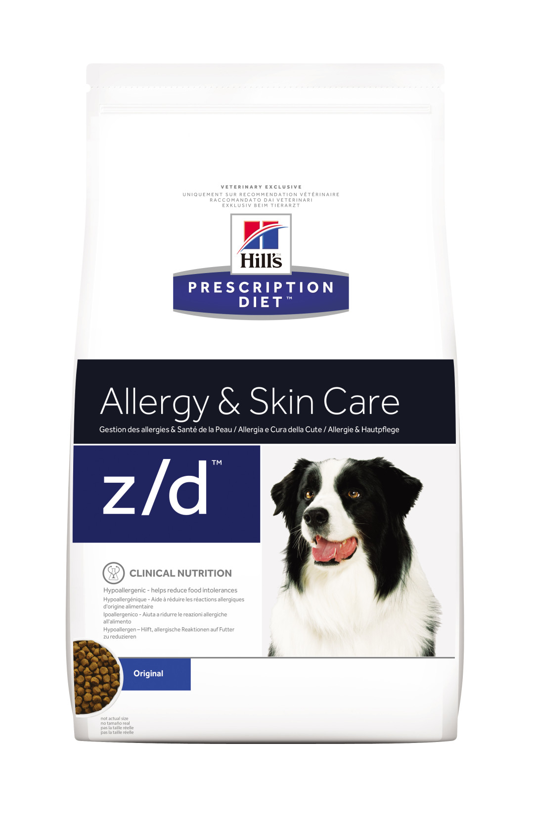 Hill's Prescription Diet hondenvoer z/d 3 kg
