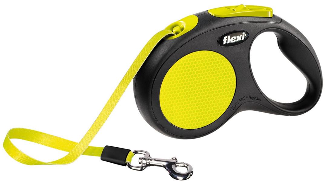 Flexi New Classic Neon S met band 5 mtr