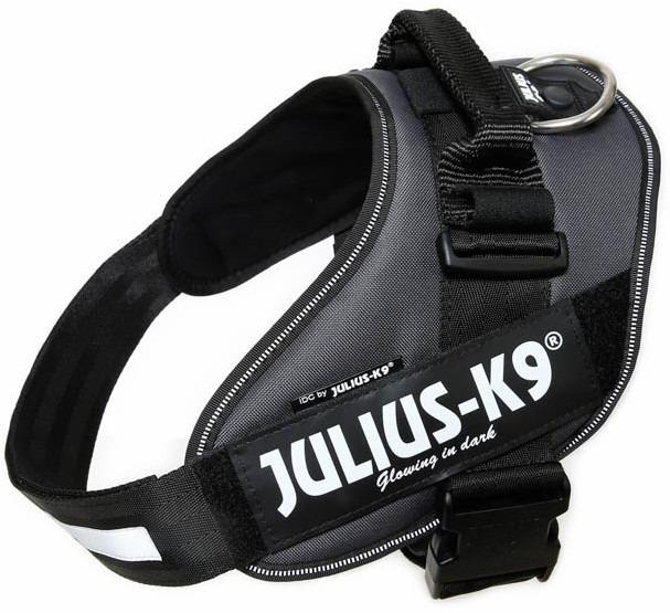 Julius K9 IDC Powerharness antraciet