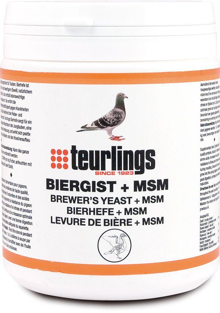 Teurlings Biergist, MSM 500 gr