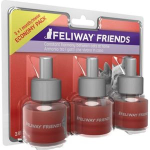 Feliway Friends refill tripack 3 x 48 ml