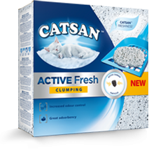 Catsan kattenbakvulling Active Fresh 8 ltr
