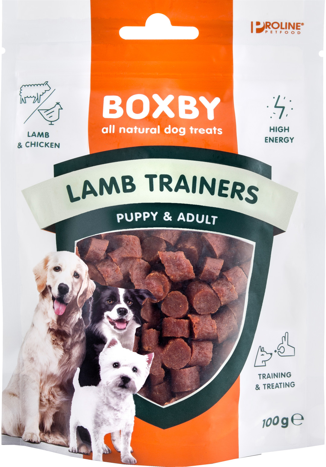 Proline Boxby Lamb Trainers 100 gr