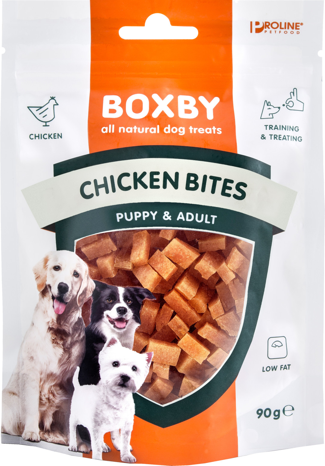 Proline Boxby Chicken Bites 90 gr