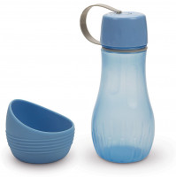 Beeztees draagbare drinkset Aventura blauw 850 ml thumb