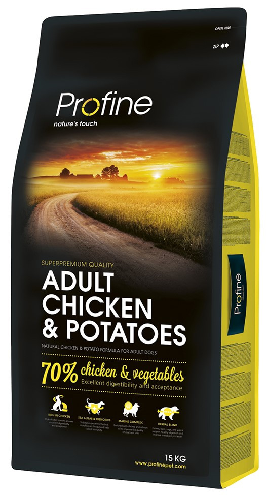 Profine hondenvoer Adult Chicken & Potatoes 15 kg