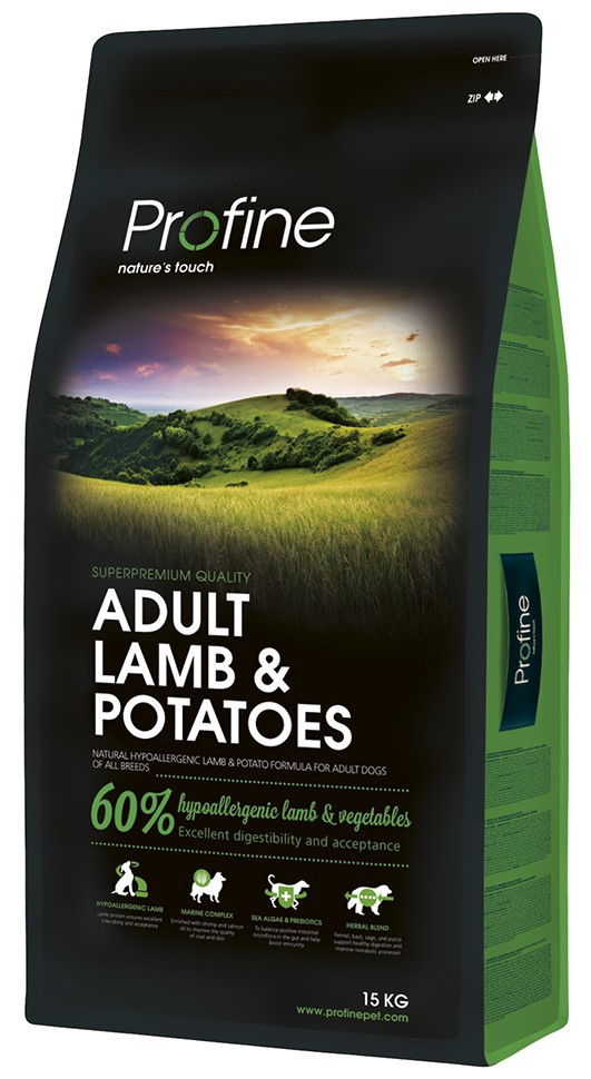 Profine hondenvoer Adult Lamb & Potatoes 15 kg