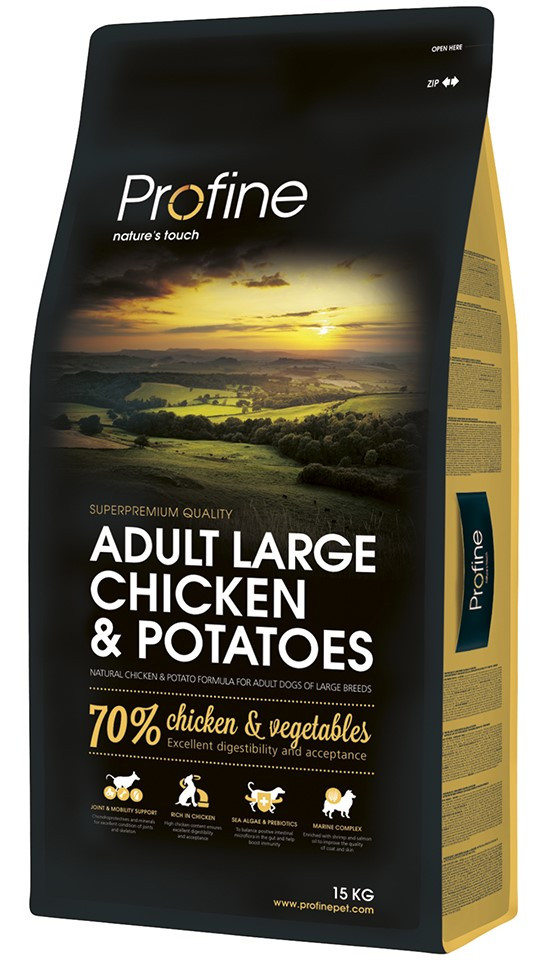 Profine hondenvoer Adult Large Chicken & Potatoes 15 kg