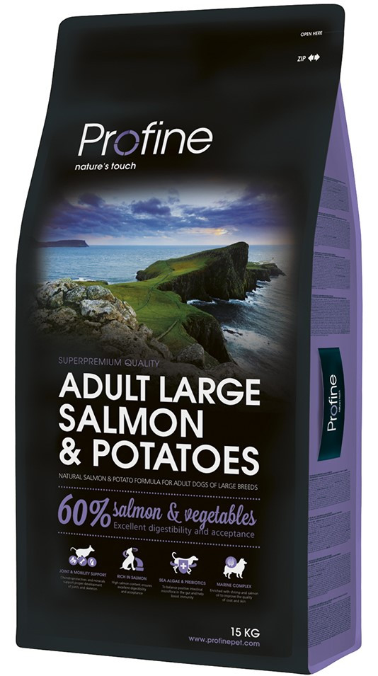 Profine hondenvoer Adult Large Salmon & Potatoes 15 kg