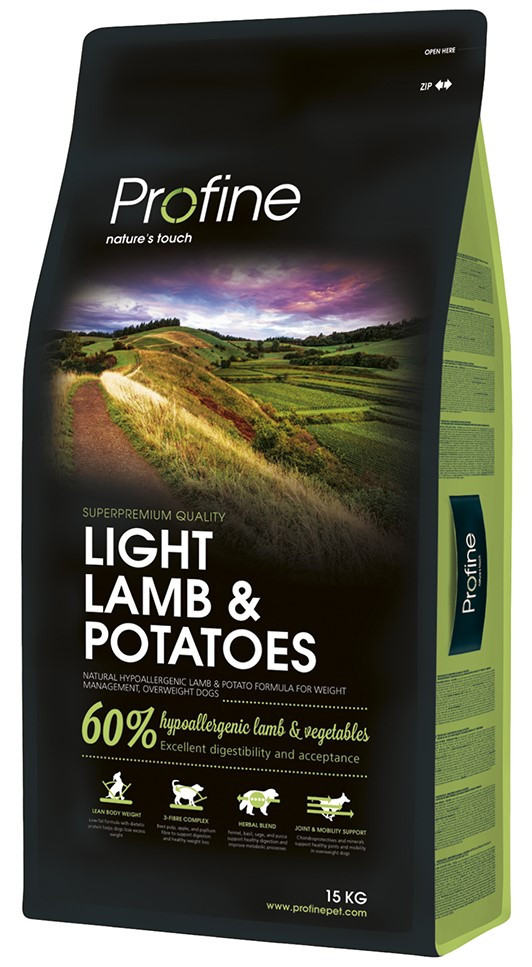 Profine hondenvoer Light Lamb & Potatoes 15 kg
