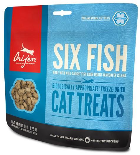 Orijen Cat Treats 6 Fish 35 gr