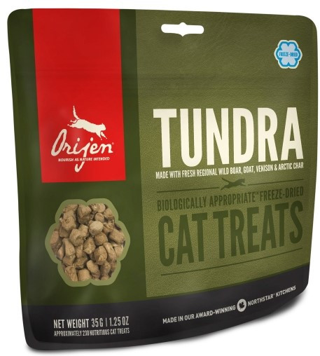 Orijen Freeze-Dried Cat Treats Tundra 35 gr